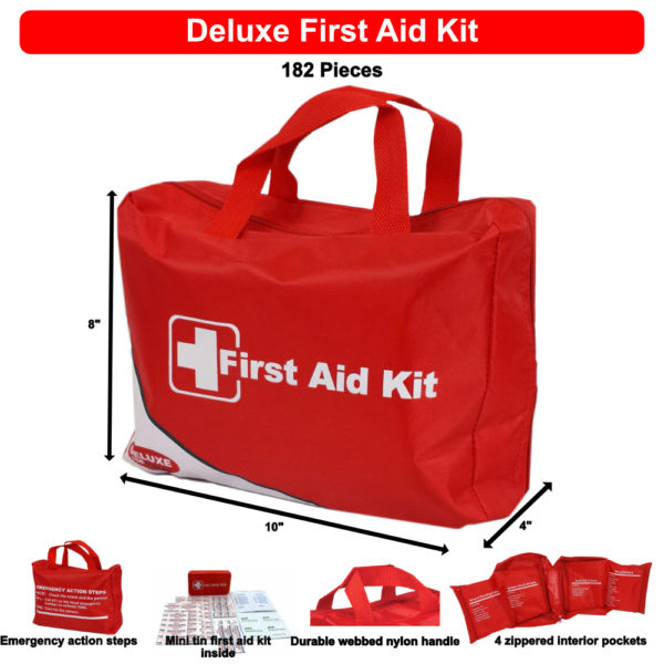 Deluxe First Aid Kit FAK6100